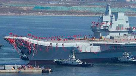 Китайский авианосец назвали «Пипи Ся»