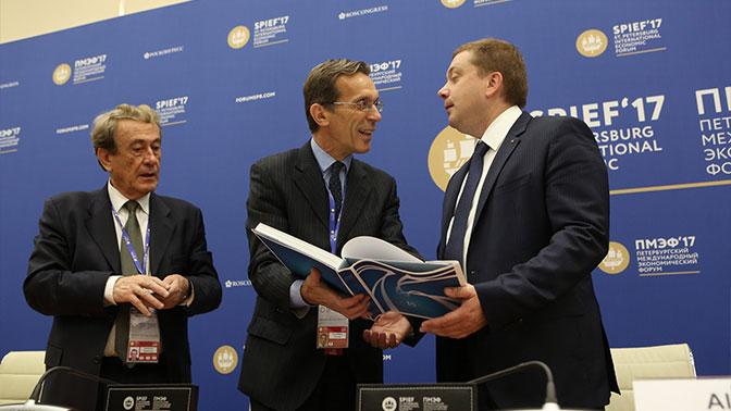 На ПМЭФ-2017 подписано 386 соглашений на сумму 2 трлн рублей