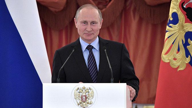 Путин рассказал, почему у него гора с плеч свалилась