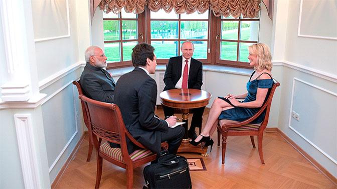 Путин провел особенно колоритную беседу с американской журналисткой – политолог