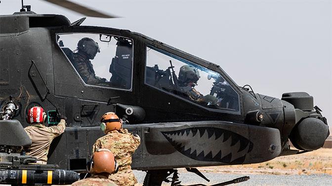 СМИ: командиров ИГИЛ вывозят из Ракки на американских вертолетах