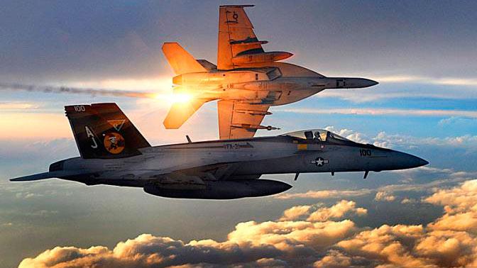 Су-22 ушел от ракеты F-18 в Сирии: подробности боя