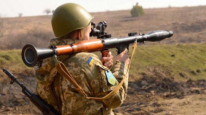 Боевики ВСУ обстреляли из гранатометов ДНР после объявления перемирия