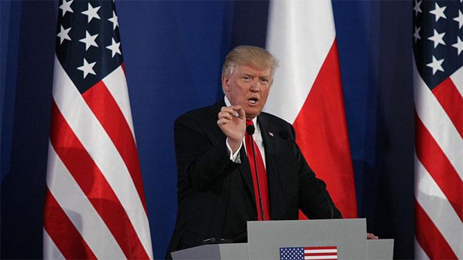 Трамп заявил, что Россия должна перестать поддерживать иранский и сирийский режимы
