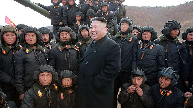 КНДР предупредила США, что не следует играть с огнем, сидя на пороховой бочке