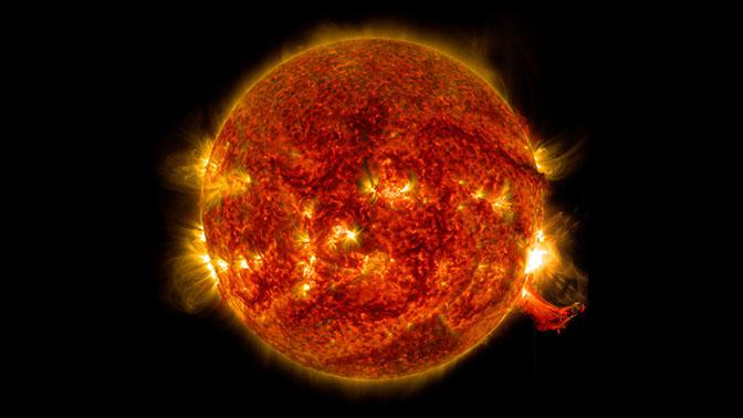 Масштабная вспышка на Солнце может привести к катаклизмам на Земле