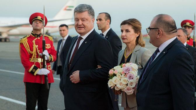 Порошенко прибыл в Грузию