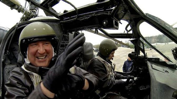 Рогозин заявил, что отправится в Молдавию на мотоцикле или вертолете