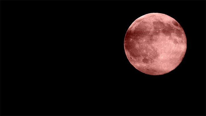 Седьмого августа москвичи увидят «кровавую» луну