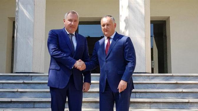 Рогозин встретился с Додоном в Иране
