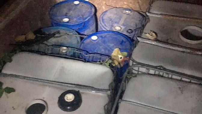 300-метровый спиртопровод нашли на украинско-молдавской границе