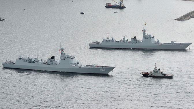 СМИ: Китай направил десятки военных кораблей к берегам КНДР