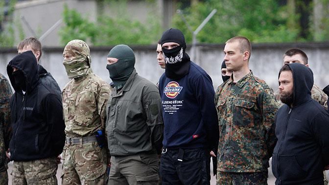 Боевики «Азова» наградили сами себя орденами за расправу над жителями Марьинки