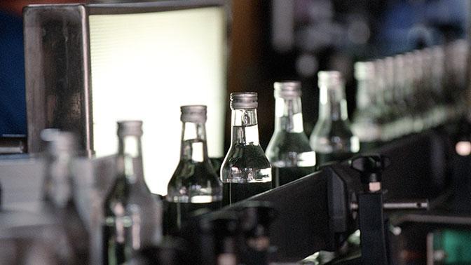 В России упали продажи алкоголя