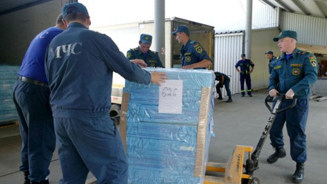 Россия названа одним из лидеров по оказанию гуманитарной помощи в мире