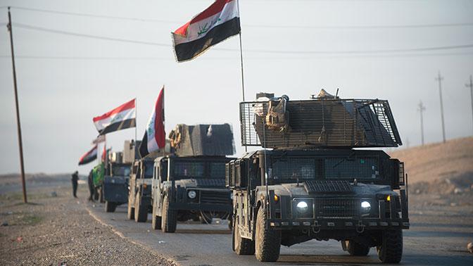 Ирак перешел в наступление на позиции боевиков у границы с Сирией