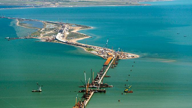 Западные СМИ усмотрели в строительстве Крымского моста «агрессию» со стороны России