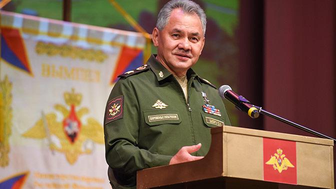 Шойгу оказался в топе медиарейтинга российских министров в августе