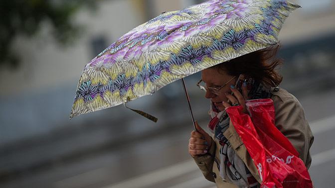 Резкое ухудшение погоды ожидается в Москве
