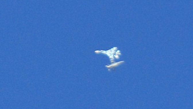 Истребитель Су-27 разбился в американском штате Невада - СМИ