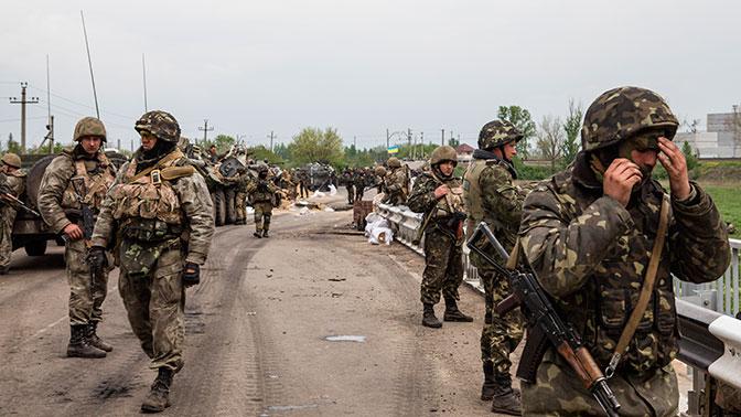 Глава Генштаба ВСУ рассказал об огромных потерях, которые ждут Украину в случае оккупации Донбасса
