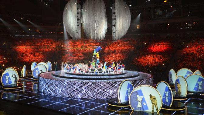В Сочи началась церемония открытия XIX Всемирного фестиваля молодежи