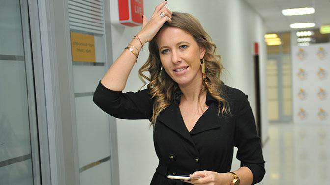 Ксения Собчак объявила о своем участии в президентских выборах