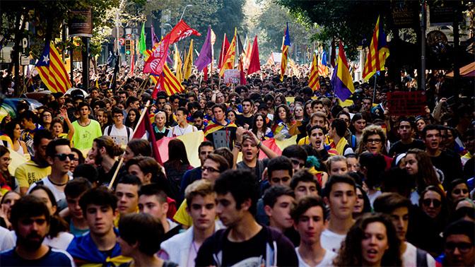 Каталония провозгласила независимость от Испании