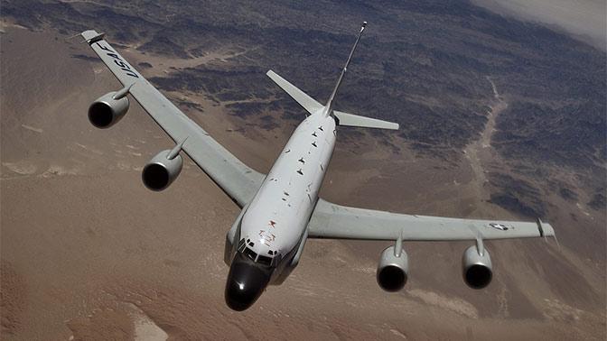 Самолет ВВС США провел разведку у российской границы