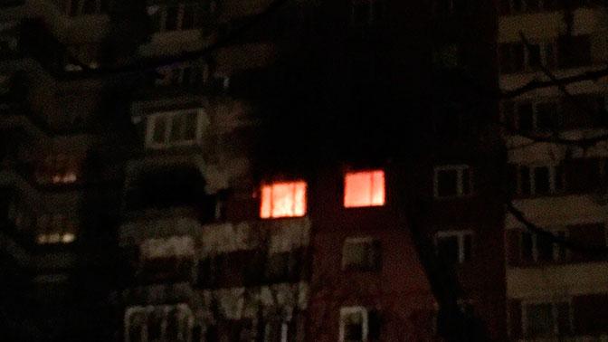 В Новой Москве из-за сильного пожара эвакуируют многоэтажку