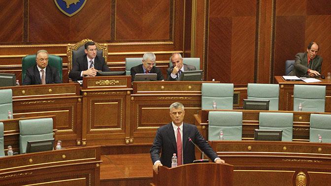 Лидер Косова рассказал об «историческом соглашении» с Сербией