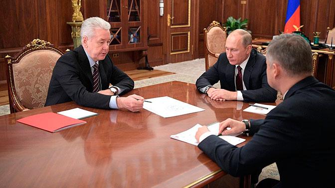 Путин поддержал проект нового «наземного метро» в Москве