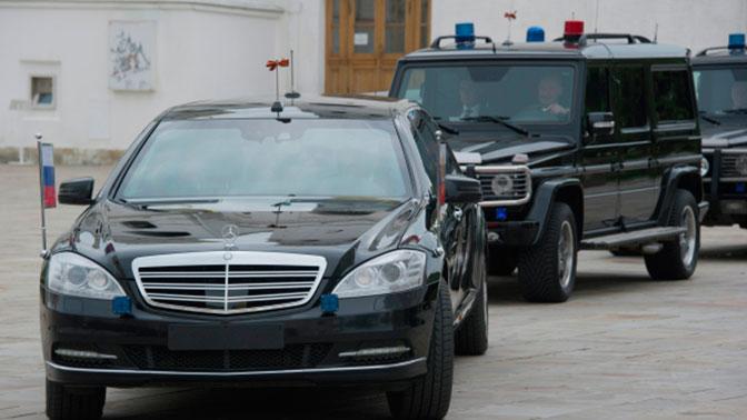 Телефонные угрозы о взрывных устройствах на пути кортежа Путина оказались ложными