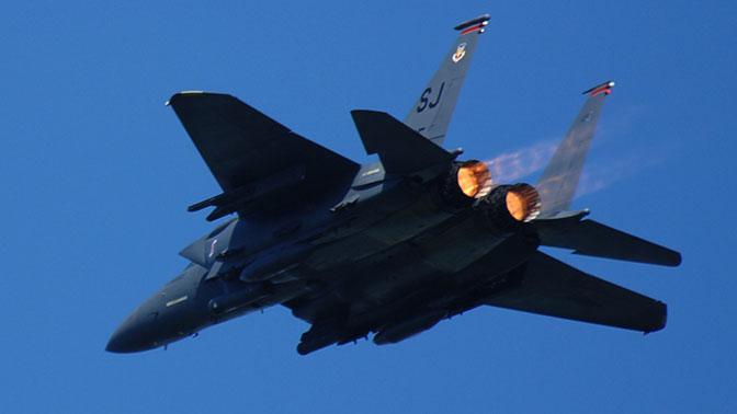 «Российское вторжение»: пользователи высмеяли погоню F-15 за «НЛО» над США