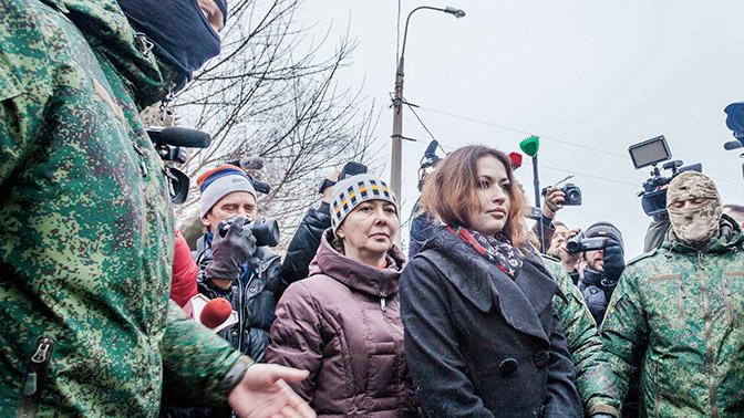 Жители Авдеевки отказались говорить на украинском языке