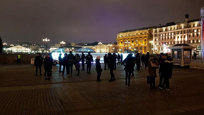 В столице эвакуируютТЦ «Охотный ряд»