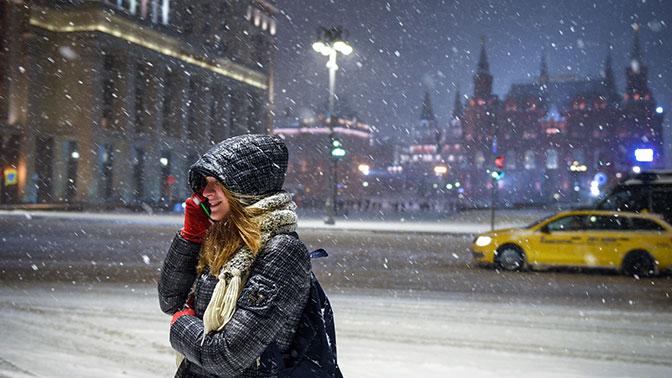 На Москву надвигается ледяной дождь с Балкан