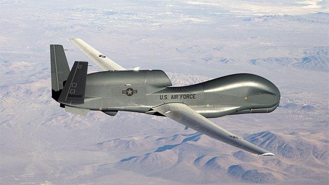 Стратегический беспилотник ВВС США совершил многочасовой разведывательный полет над Донбассом