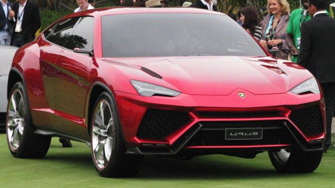 Lamborghini представил самый быстрый джип вмире