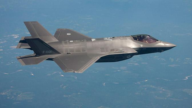 Истребитель F-35 развалился в небе над Японией - СМИ