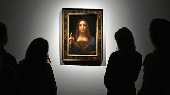 В ОАЭ выставят самую дорогую картину да Винчи