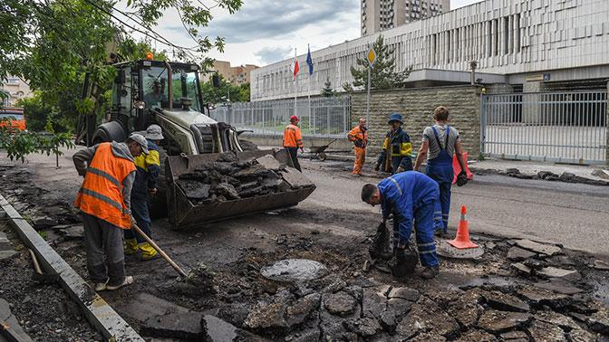 В РФ отремонтировали неменее 5 тыс. километров дорог загод