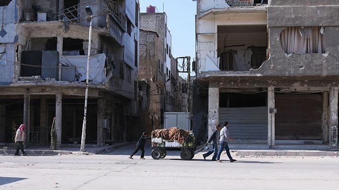 Российский Центр по примирению враждующих сторон доставил жителям Алеппо 1,3 тонн гуманитарной помощи