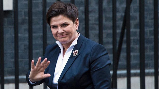 Премьер-министр Польши Беата Шидло покинула свой пост
