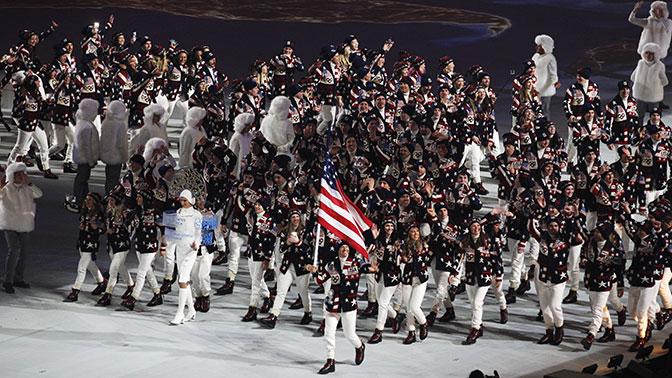 Белый дом: в Вашингтоне работают с Сеулом, чтобы атлеты США приняли участие в ОИ-2018