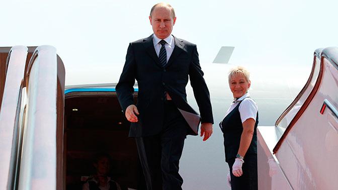 Египетские СМИ приветствовали Владимира Путина нарусском языке