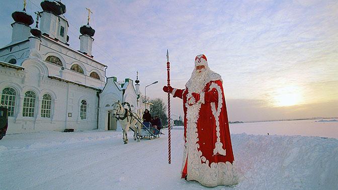 Дедушка Мороз подготовил подарок для президента РФ