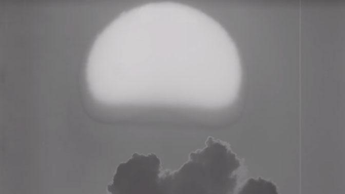 В США рассекретили десятки видео с испытаний ядерного оружия
