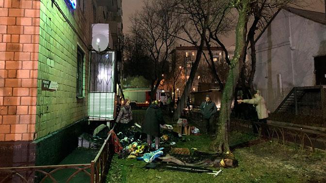 Впожаре  вмногоэтажке в столице России  пострадали три человека