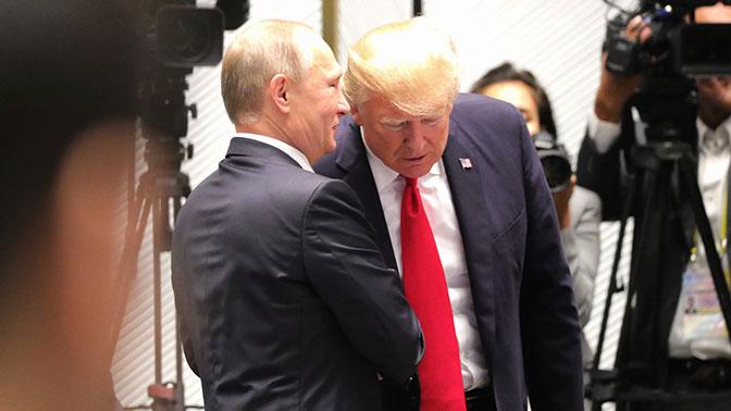 Путин заверил Трампа, что спецслужбы РФ при наличии информации о угрозах терактов в США, передадут ее американским коллегам